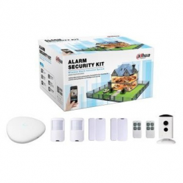 Buy Alarm Security Kit DAHUA Alarm Security kit 2Room+Camera ART-ARC2000B-06-C35 Elkor