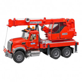 Buy Car BRUDER MACK Kran-LKW with Light and Sound 2826 Elkor