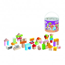 Pirkt Bērnu klucīši EICHORN Color Wooden Building Blocks 100002226 Elkor