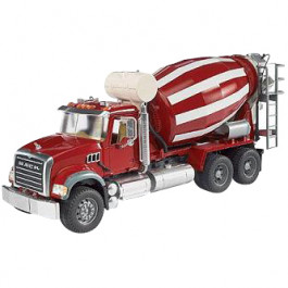 Buy Mechanical toy BRUDER MACK Granite Cement mixer 02814 Elkor