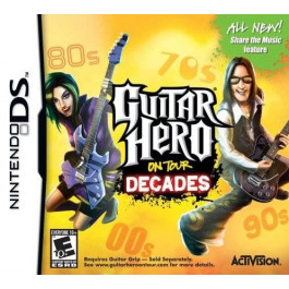 Pirkt DS spēle  Guitar Hero On Tour Decades  Elkor