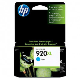 Buy Cartridge HP No.920XL Cyan CD972AE  Elkor