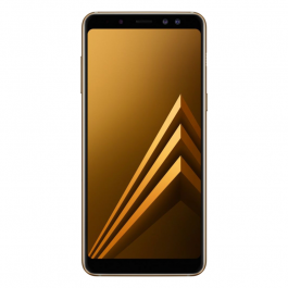 Купить Смартфон SAMSUNG Galaxy A8 2018 32GB Gold  Elkor