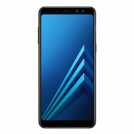 Buy Smartphone SAMSUNG Galaxy A8 2018 32GB Black  Elkor