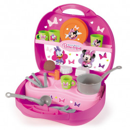 Купить Игрушка SMOBY Mini Kitchen in Case Minnie 7600024066 Elkor