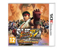 3DS spēle Super Street Fighter IV    Super Street Fighter IV