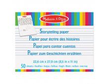 Pirkt Zīmēšanas albums MELISSA & DOUG Storytelling Paper 50 Sheets 14103 Elkor