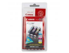 Комплект картриджей CANON CLI-521Multipack       CLI-521Multipack