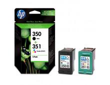 Комплект картриджей HP Nr.350 Black+Nr.351 Color Nr.350 Black+Nr.351 Color