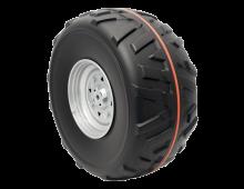 Aksesuārs PEG-PEREGO Polaris 800 Black Front Wheel Assy 40 Polaris 800 Black Front Wheel Assy 40