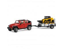 Buy Set of cars BRUDER Jeep Wrangler + Haagis Minilaaduriga 2925 Elkor