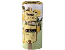 Pirkt Tēja BASILUR 2in1 Green & Citrus 125 g                   Elkor