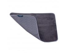 Bath mat  SMART Mikrofiber floormat/gray/Paklajins 65x45cm Mikrofiber floormat/gray/Paklajins 65x45cm