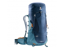 Buy Travel backpack DEUTER Aircontact Lite 50+10 Navy-Arctic 3340318-3396 Elkor