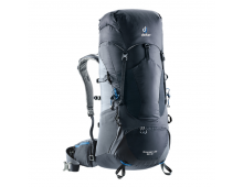 Buy Travel backpack DEUTER Aircontact Lite 50+10 Black-Graphite 3340318-7403 Elkor