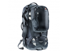 Buy Travel backpack DEUTER Traveller 70+10 Black-Silver 3510115-7400 Elkor