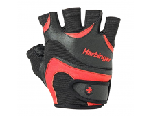 Buy Fitness Gloves HARBINGER FlexFit Blk/Red 3603 Elkor