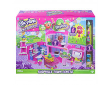 Pirkt Konstruktors SHOPKINS Shopville Town Center Set 37338 Elkor