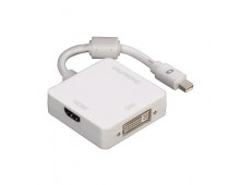Купить Провод HAMA 3in1 Mini DisplayPort Adapter for DVI Displayport or HDMI   53245 Elkor