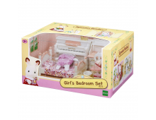 Buy Set of action figures SYLVANIAN FAMILIES Girl's Room Set 5032 Elkor