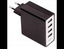 Купить Зарядное устройство HAMA 4-Port USB 5 V/5.1 A USB 54182 Elkor