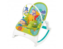 Šūpoles FISHER-PRICE Rainforest Kompakt-Schaukelsitz, 2-in-1 Rainforest Kompakt-Schaukelsitz, 2-in-1