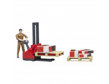 Action figure BRUDER Figure-set Logistics UPS Figure-set Logistics UPS