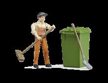 Action figure BRUDER Figure-set Wastle Disposal Figure-set Wastle Disposal