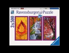 Pirkt Puzle RAVENSBURGER Herbst-impressionen R16328 Elkor