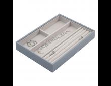 Купить Шкатулкa для ювелирных изделий LC DESIGNS Classic 4 Section Dusky Blue 73742 Elkor