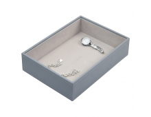 Box for jewelry LC DESIGNS Classic Deep Open Dusky Blue Classic Deep Open Dusky Blue