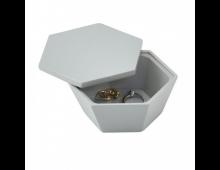 Купить Шкатулкa STACKERS Grey Geo Trinket 73858 Elkor