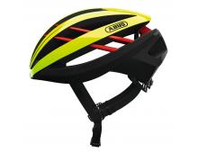 Buy Helmet ABUS Aventor Neon Yellow 77610 Elkor