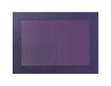 Buy Table-napkin ASA Placemat lilac with weaved border 33x46cm 78050076 Elkor