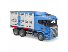 Pirkt Mašīna BRUDER Scania Rseries Cattle Transp.Truck With Cattle 3549 Elkor