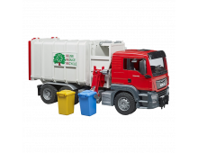 Mašīna BRUDER MAN TGS Side Loading Garbage Truck MAN TGS Side Loading Garbage Truck