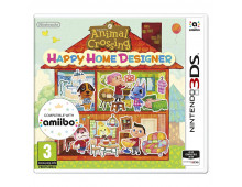 3DS spēle ANIMAL CROSSING: HAPPY HOME DESIGNER ANIMAL CROSSING: HAPPY HOME DESIGNER