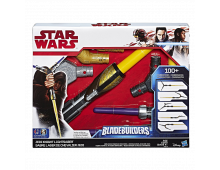 Zobens HASBRO Star Wars: The Last Jedi Bladebuilders Jedi Knight Lightsaber Star Wars: The Last Jedi Bladebuilders Jedi Knight Lightsaber