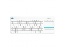 Купить Клавиатура LOGITECH K400 Plus Wireless Touch 920-007146 Elkor