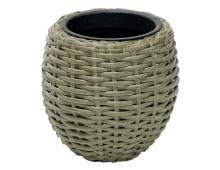 Buy Flowerpot EVELEKT Wicker Hyacinth 92732 Elkor