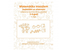 Pirkt Grāmata KORS N Uzdevumu burtnīca bērnu attīstībai 5-6 gadi. Matemātika mazuļiem. Saskaitām un atņemam 5 daļa 931835 Elkor