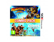 3DS spēle Madagascar 3+Croods Combo Pack Madagascar 3+Croods Combo Pack