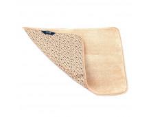 Bath mat  SMART Mikrofiber floormat/beige/Paklajins 65x45cm Mikrofiber floormat/beige/Paklajins 65x45cm