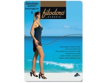 Zeķes FILODORO Absolute Summer 8 Autoreggente Tea Absolute Summer 8 Autoreggente Tea