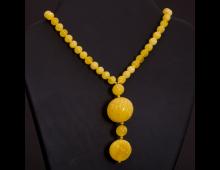Купить Украшение для шеи COMES Amber yellow N AS -2 shar -ref Elkor