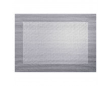 Buy Table-napkin ASA Placemat Silver/Black Metall 78088076 Elkor