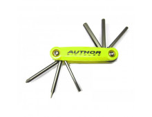 Tool kit AUTHOR AHT ToolBox 6 yellow-neon/black AHT ToolBox 6 yellow-neon/black