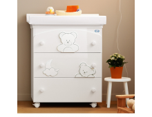 Buy Commode PALI Babybath Georgia Glossy White 53323300 Elkor