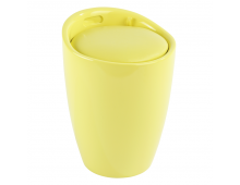 Veļas grozs WENKO Bath Stool Candy Yellow Bath Stool Candy Yellow
