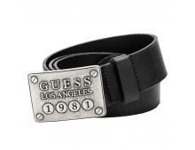 Buy Belt GUESS Black BM2411 LEA40 BLA Elkor